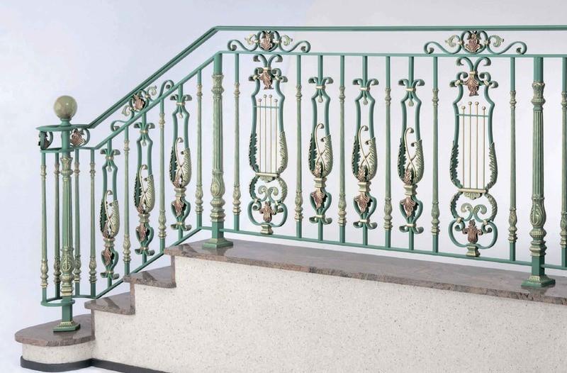 Кованые балясины для лестниц в перми